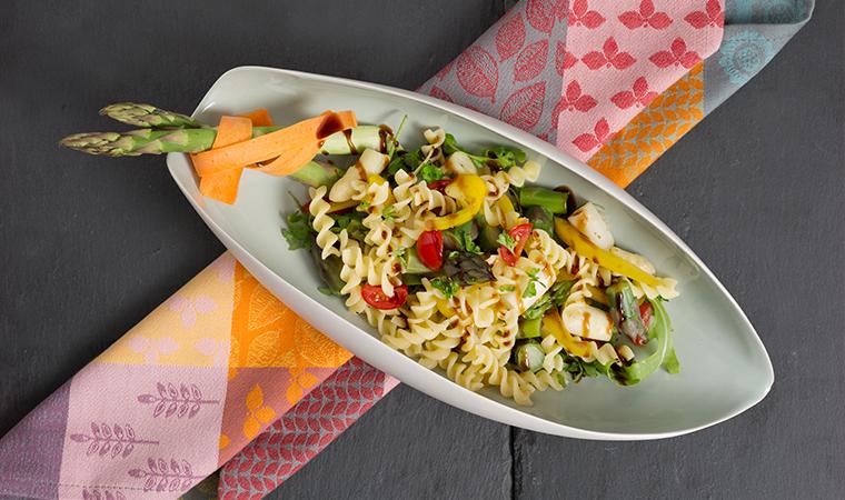 Bunter Dralli-Spargel-Salat | glutenfrei