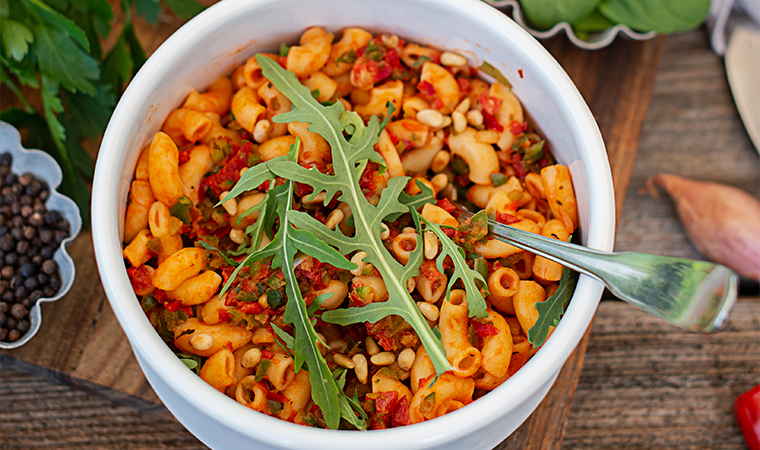 hoernchen-tomatensauce-vegan-meal-prep