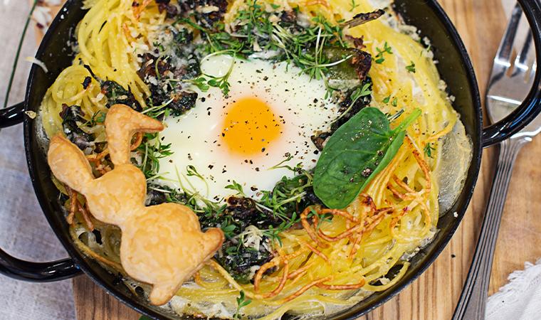 rezept-spaghetti-nester-mit-spinat-und-ei