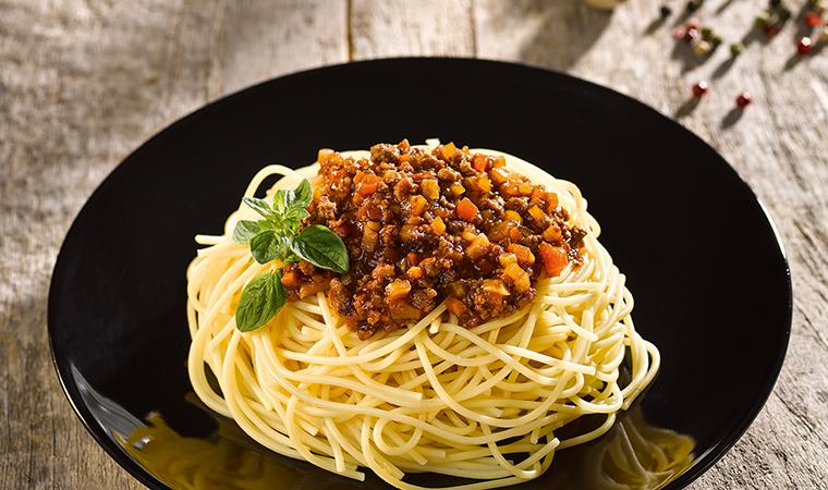 Premium Spaghettini mit Wildschwein-Bolognese