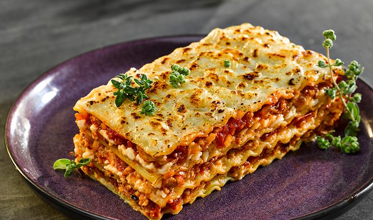 Hühnchen-Lasagne
