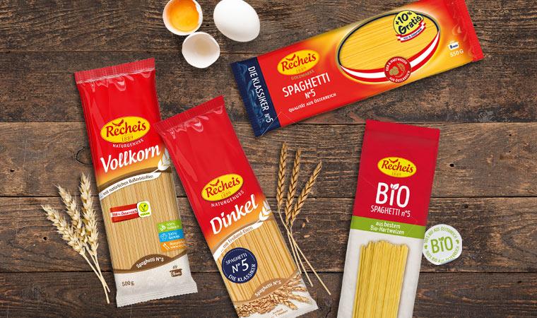 Recheis Imagekampagne zum Frühlingsauftakt – Österreichs größte Spaghetti Vielfalt