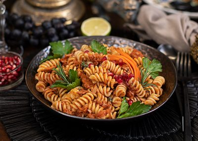 Vegane Jackfruit Bolognese
