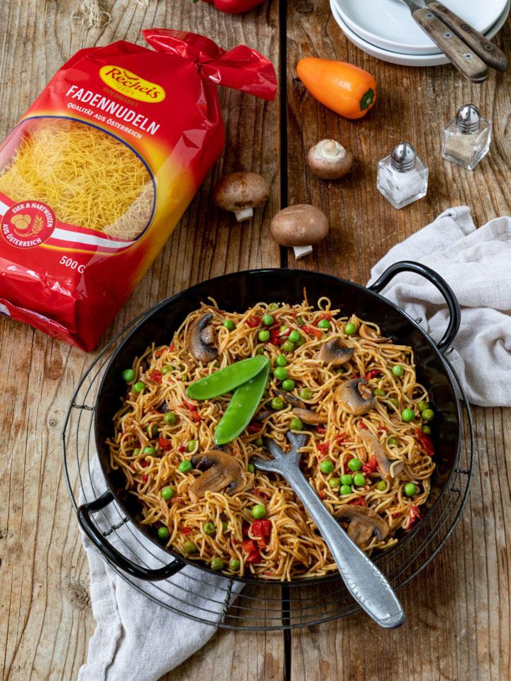 nudel-paella-vegetarisch